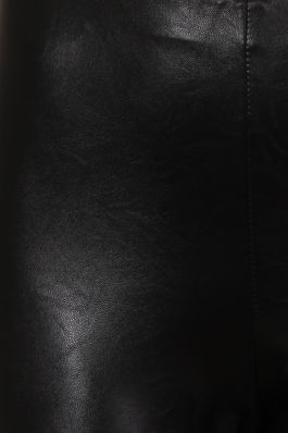 Leather Look Skinny-Fit Trousers