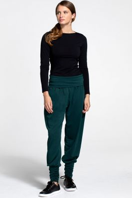 Roll Top Harem Trousers