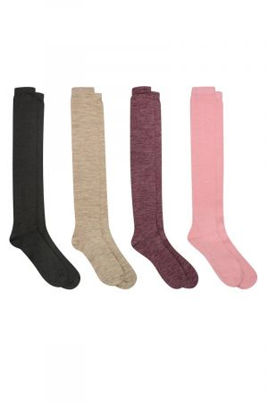 Assorted Knee High Socks 3 pack
