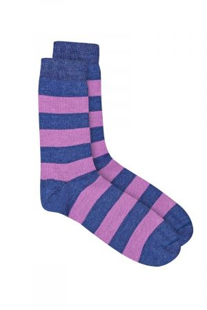 Cool Toes Blue/Purple Stripes 3 pack