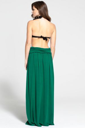 Luxury Roll Top Maxi Skirt