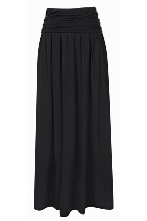 Luxury Roll Top Maxi Skirt