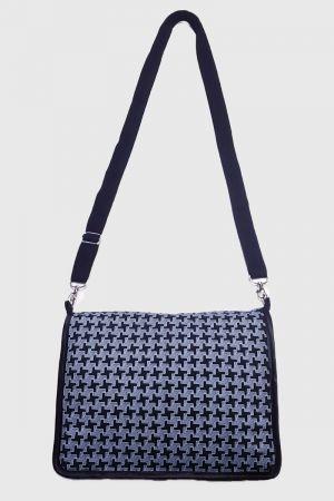 Envelope Crossbody Handbag with popper