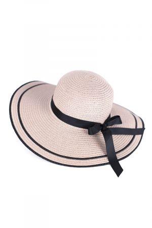 Stripe Detail Women's Sun Hat