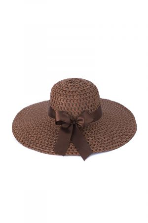 Women's Sun Hat with Silky Bow