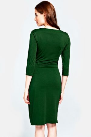 Pleat Waist Dress