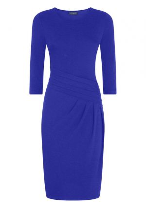 Pleat Waist Dress