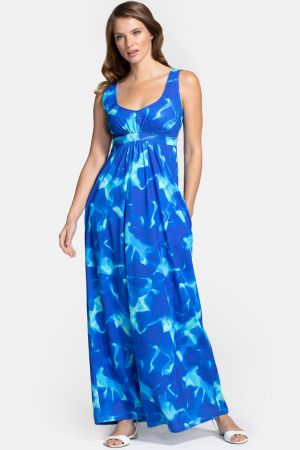 Empire Line Maxi Dress