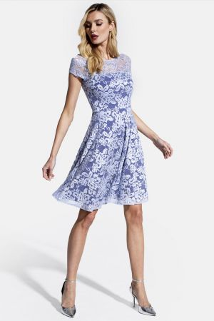 Lace Fit N Flare Dress