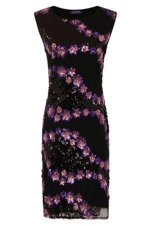 Sleeveless Sequin Dress