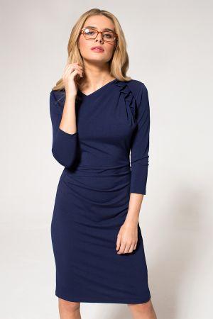 Ruffle Jersey Dress