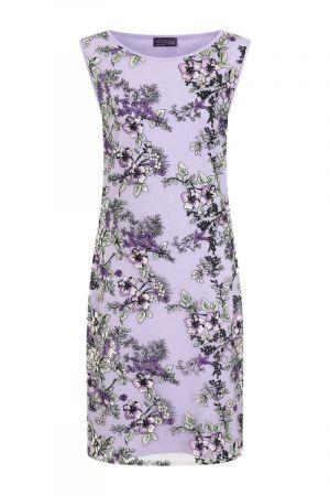 Sleeveless Embroidered Shift Dress