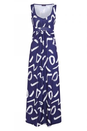 Sleeveless Empire Line Maxi Dress