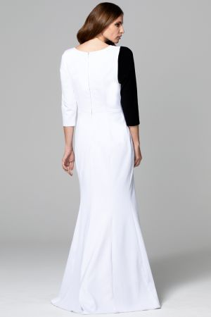 Maxi Dress with Contrast Sash