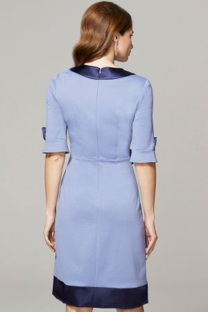 60s Dress with Contrast Hem