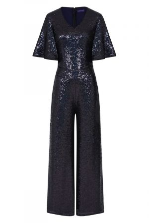 Sequin Batwing Jumpsuit